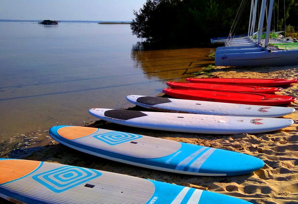 Location de paddle lac de Biscarrosse