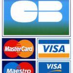 Carte bancaire acceptées