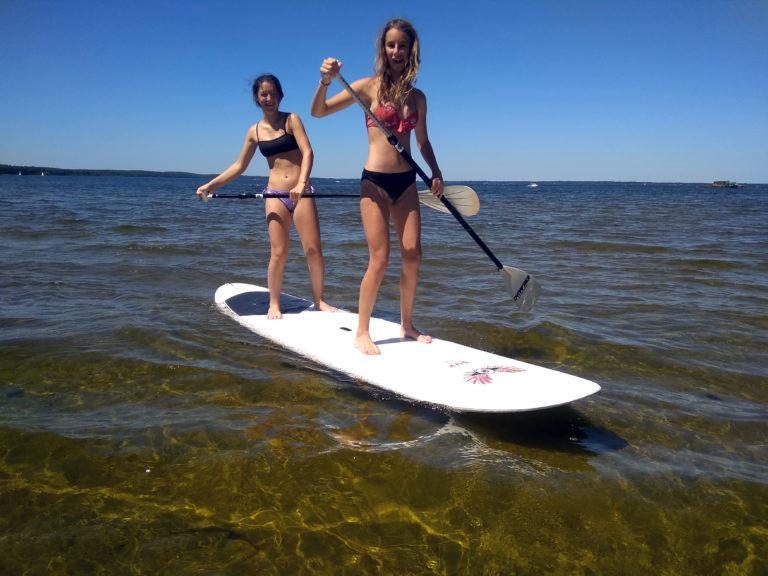 A 2 en paddle